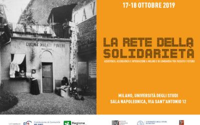 La rete della solidarietà. Assistenza, accoglienza e integrazione a Milano e in Lombardia tra passato e futuro.